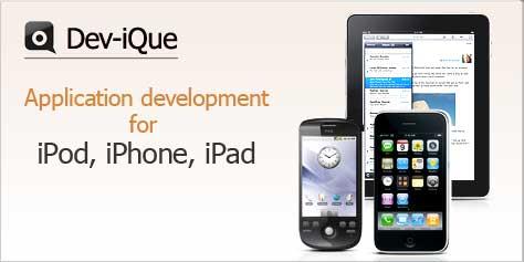 Сайт компании Dev-iQue