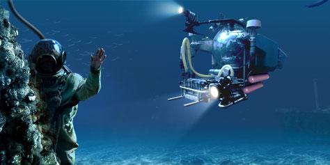 Сайт компании «Подводник»