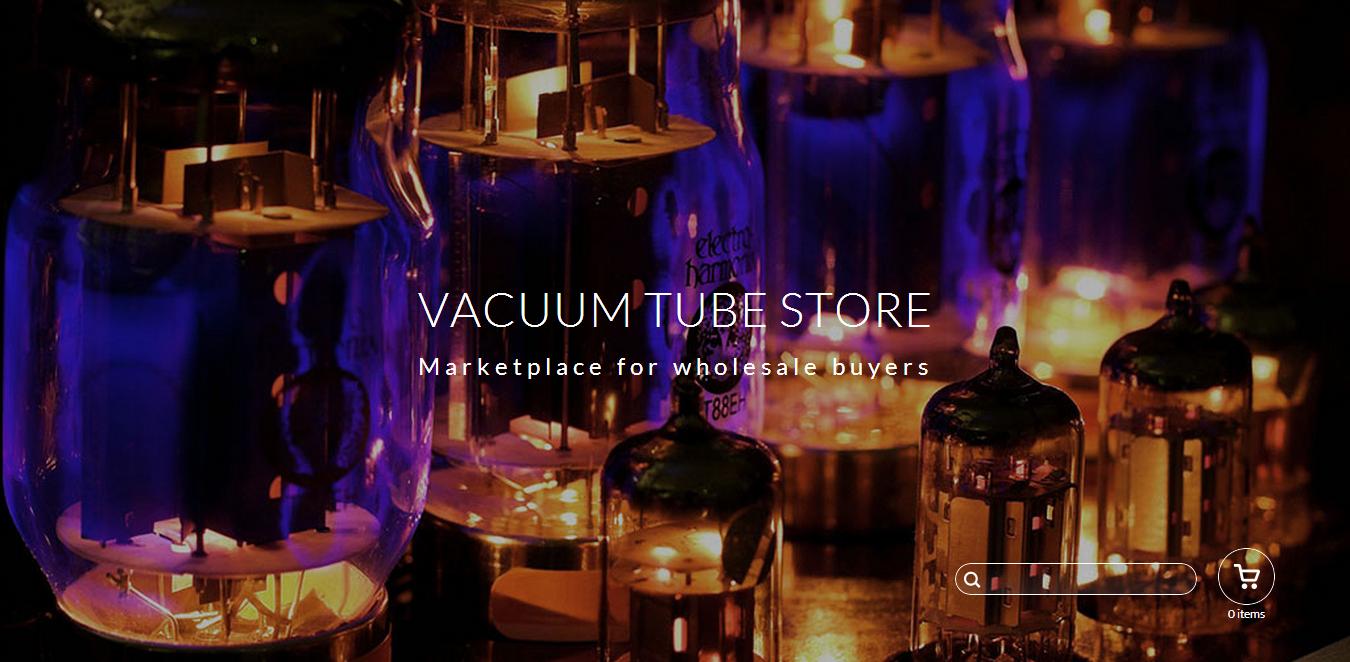 Vacuum tube store